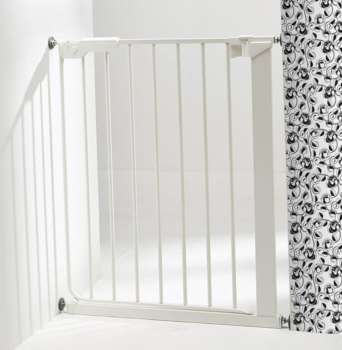 BabyDan 51994-2400-27-88 Slim Fit Stair Gate White