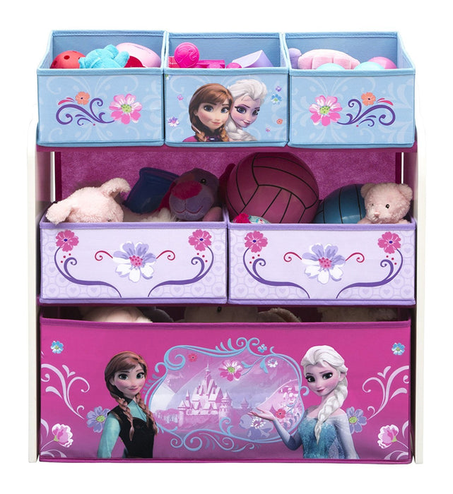 Disney Frozen Multi-Bin Toy Organizer (Blue)