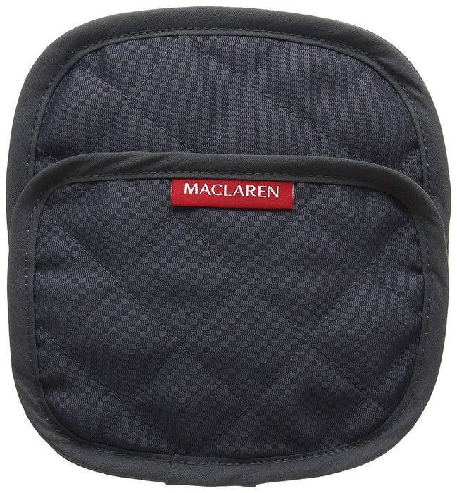 Maclaren Major Chest Pads (Cardinal/Charcoal)