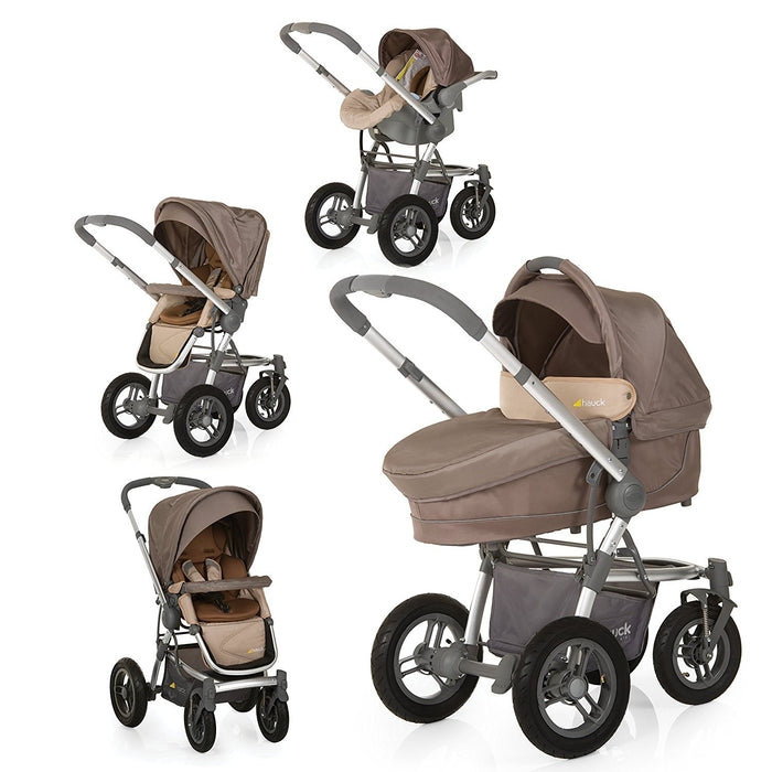 Hauck King Air Trio Set 2016 - strollers (Multifunction/Combi, Single, Sand)