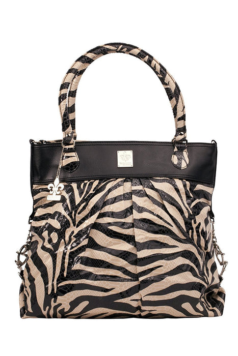 Kalencom City Slick On The Wild Side Changing Bag (Tiger Black and Cream )