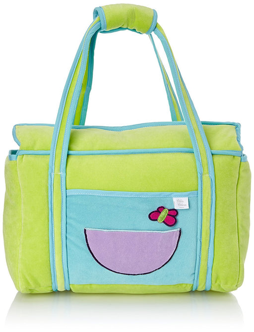 Câlin Câline Lilou 405.15 Nursery Bag Grape / Blue / Aniseed Green