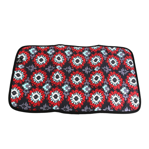 Ju-Ju-Be Memory Foam Changing Mat, Sweet Scarlet