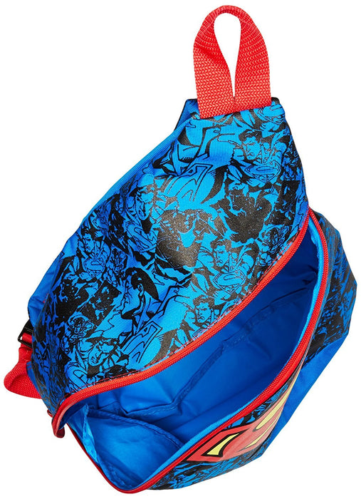 Fast Forward Baby Boy's Superman Sling Backpack, Blue, One Size