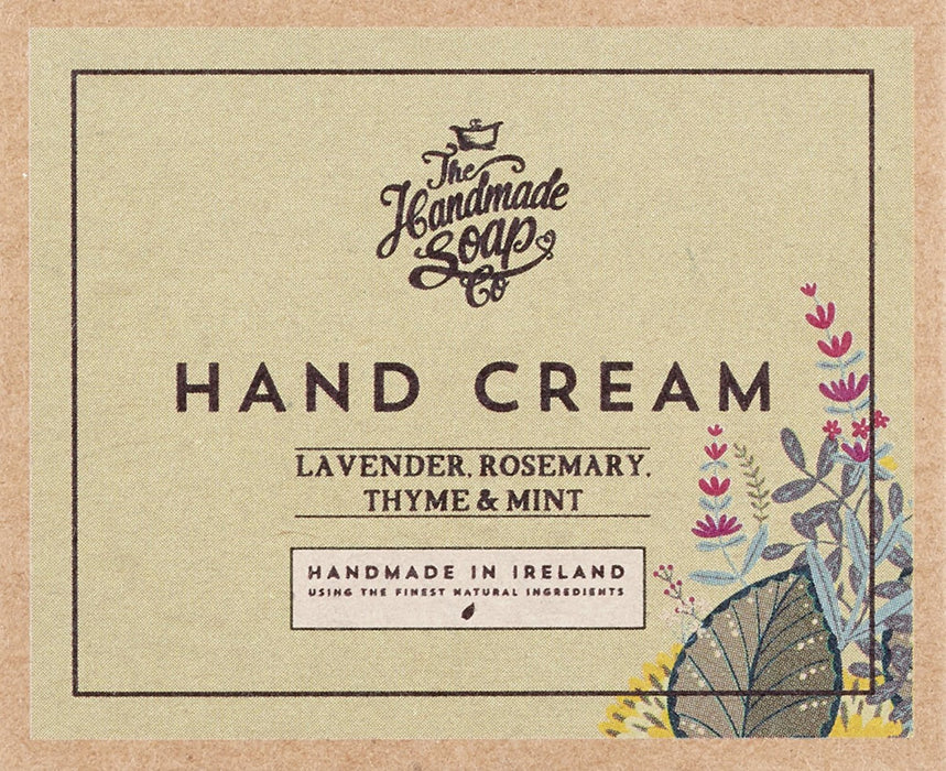 The Handmade Soap Company Lavender, Rosemary and Mint Hand Cream 50 ml