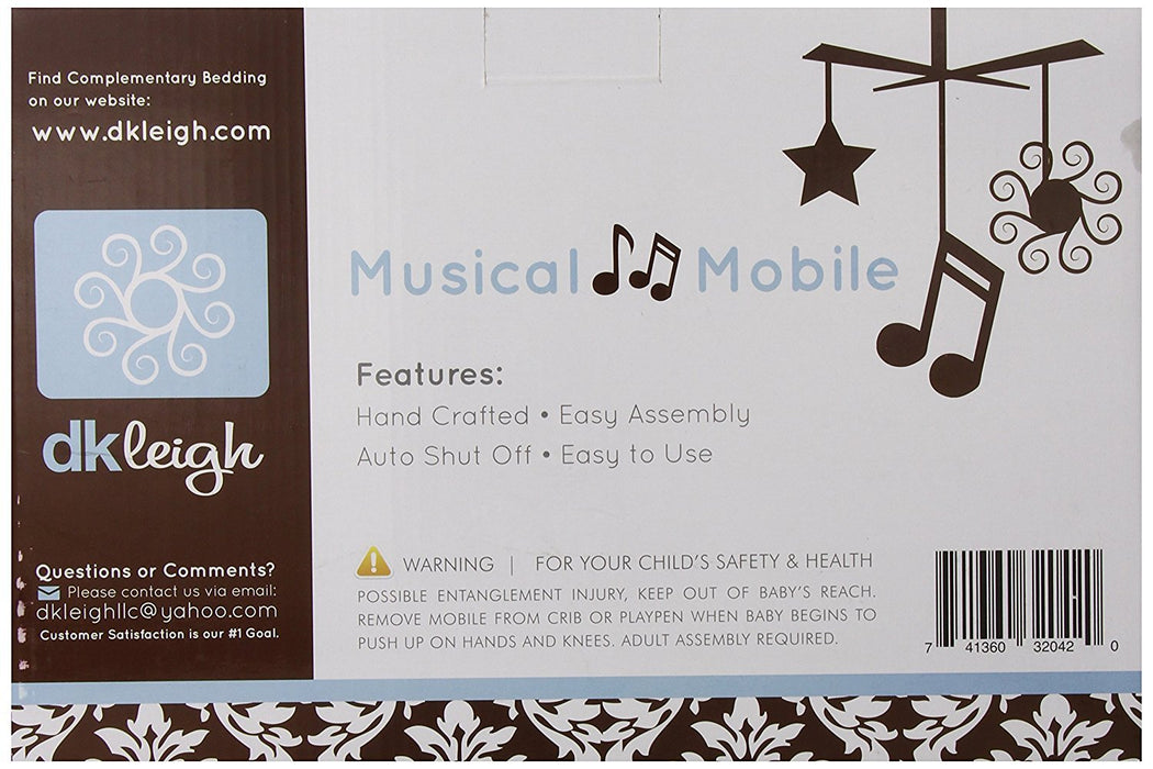DK Leigh Musical Mobile, Beach Star (Discontinued by Manufacturer)