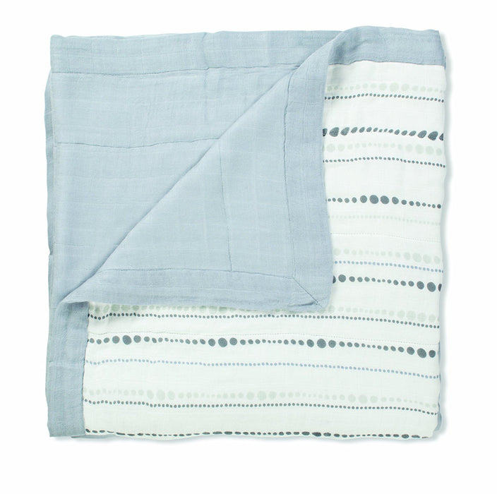 aden + anais Moonlight Bamboo Dream Blanket (Bead/ Solid Grey)