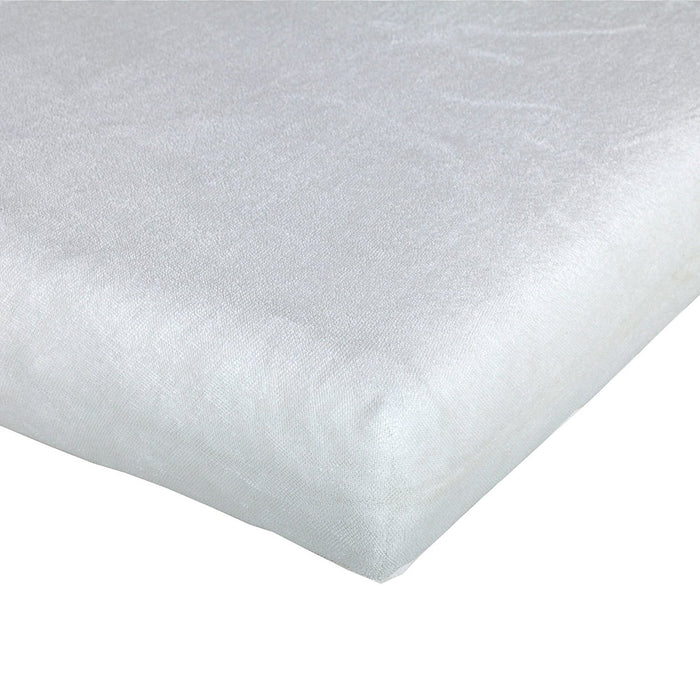 Träumeland TT01081 Terry Cloth Fitted Sheet - 40 x 90 cm Light Grey