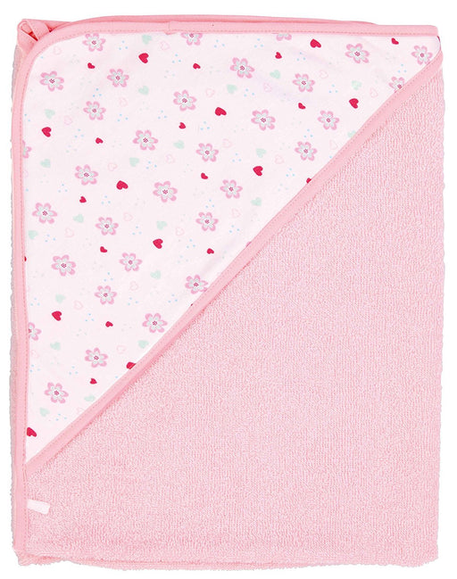 bébé-jou 3010_83 baby towel - baby towels (Pink, Cotton, Image, Machine washing)