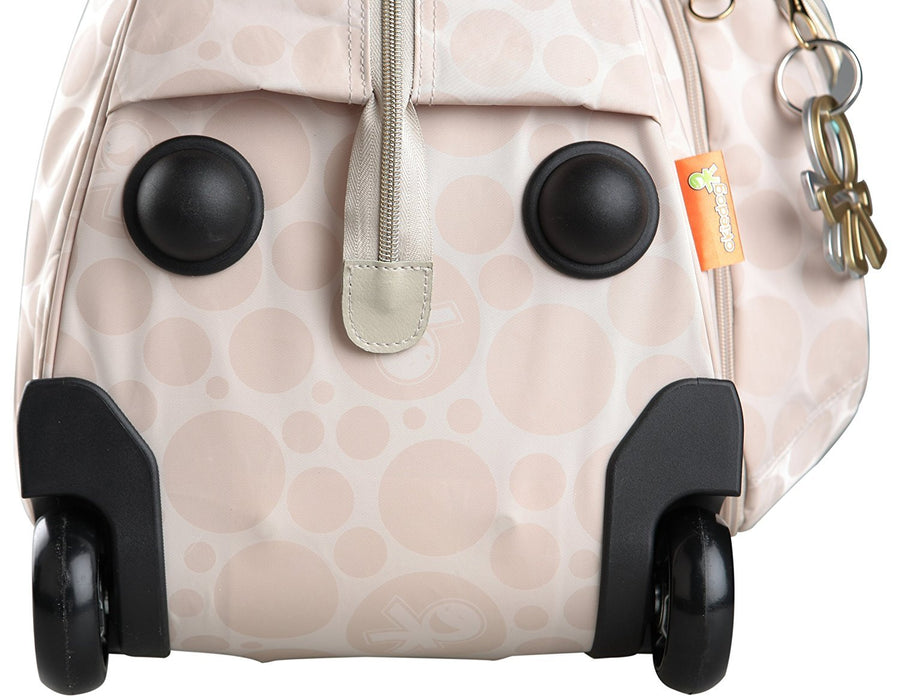 Okiedog Bliss Voyager Luxury Baby Changing Bag Trolley (Beige)