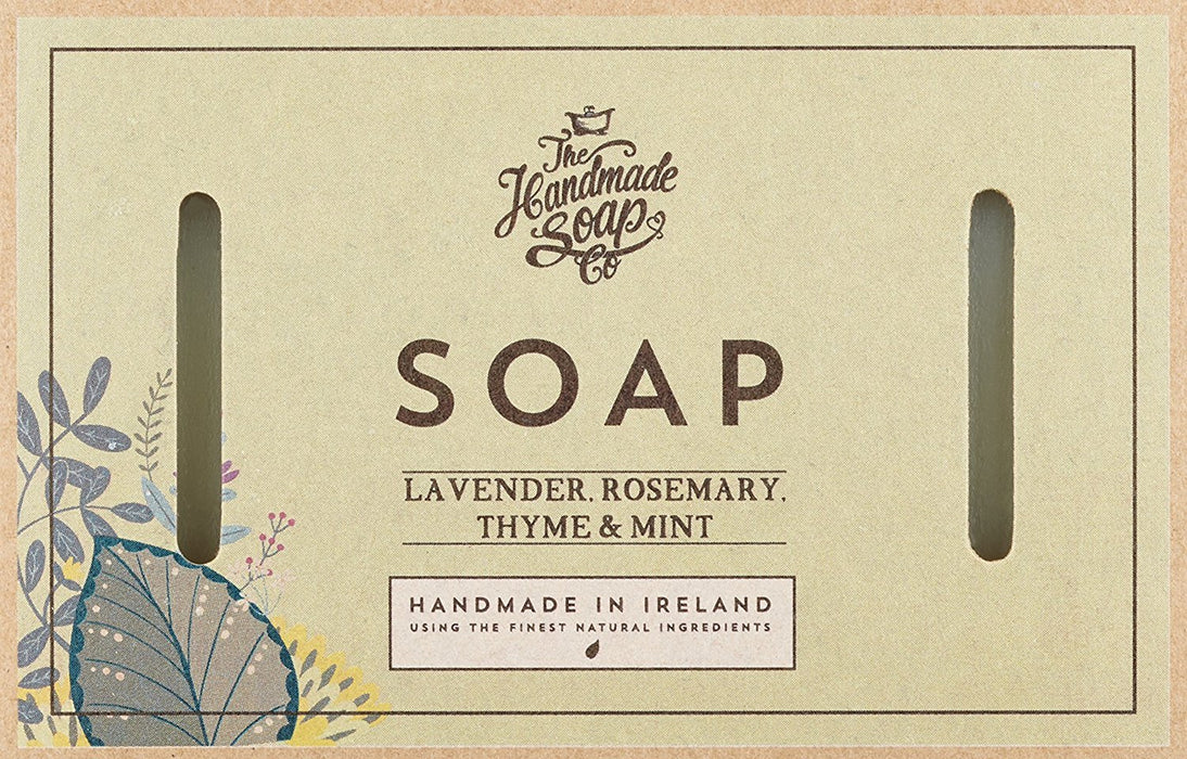 The Handmade Soap Company Lavender, Rosemary and Mint Soap 160 g