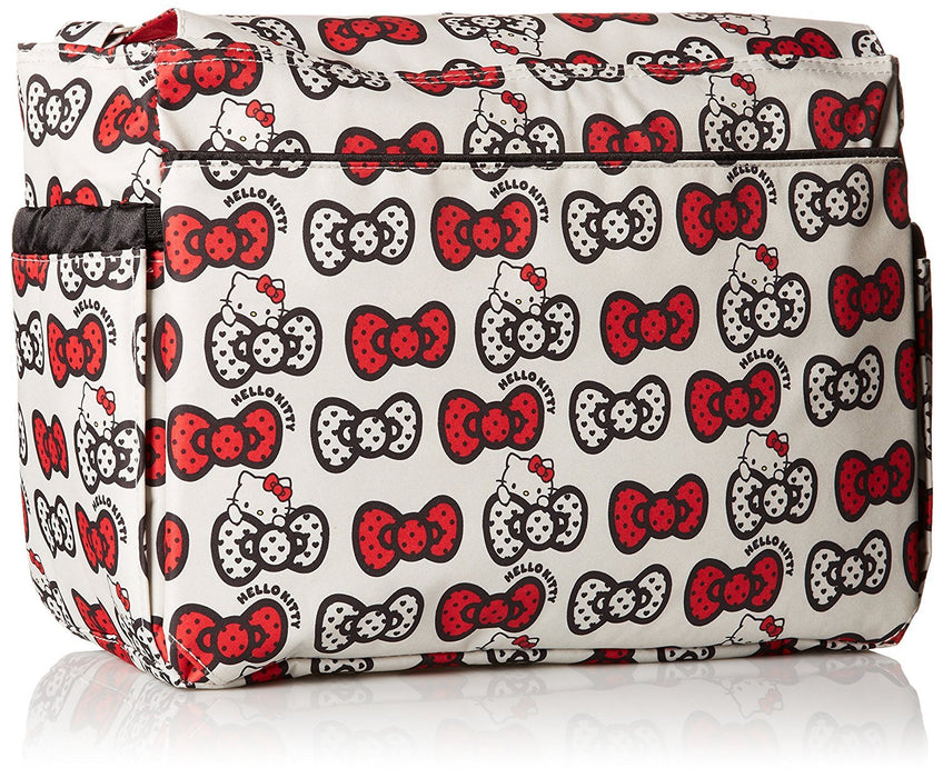 Ju-Ju-Be Hello Kitty Collection Better Be Messenger Nappy Changing Bag, Peek A Bow