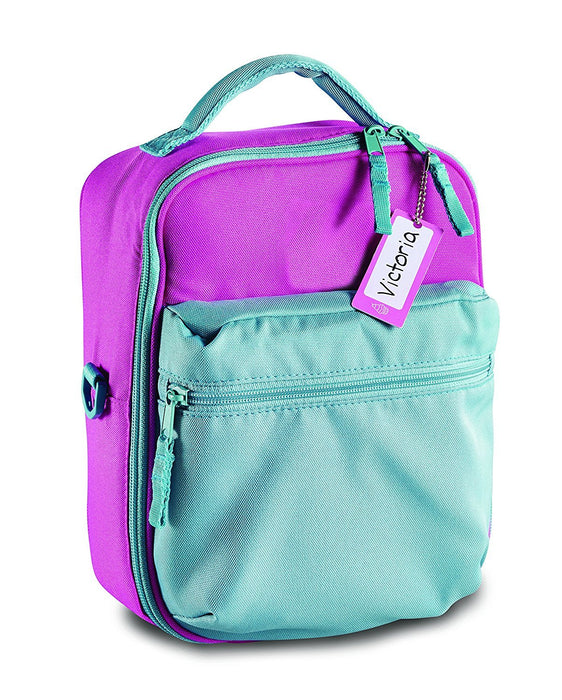 Mabel's Labels - Write Away - Backpack Tags / Lunchbox & Diaper Bag - Water Resistant - Girls, 6 Tags