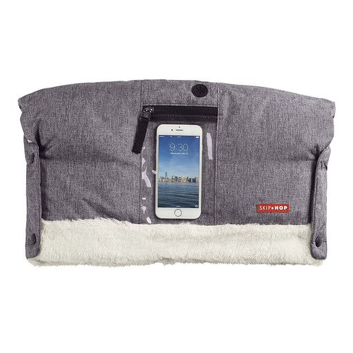 Skip Hop Stroll and Go On-Call Hand Muff (Heather Grey)