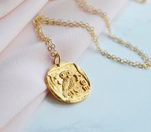 """Athena"" Necklace - Pink Moon Jewelry"