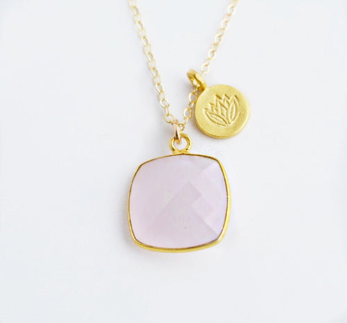 """Love that Grows"" Necklace - Pink Moon Jewelry"