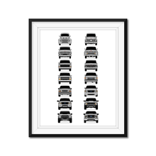 Ford F-150 Raptor Generations/History Print