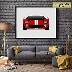 Ford GT40 Classic Print