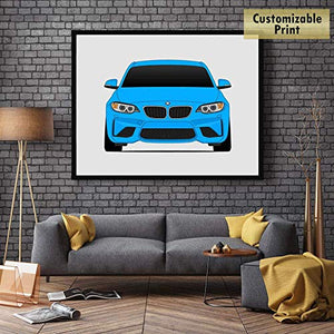 BMW F87 M2 Coupe Print