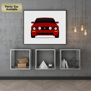 Ford Mustang GT S197 Print (2005-2009)