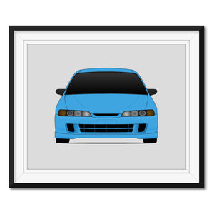 Acura Integra from the Fast and the Furious Print