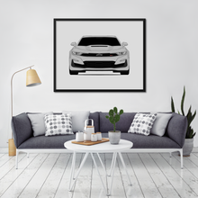 Chevy Camaro SS 6th Generation Print (2020-Present)