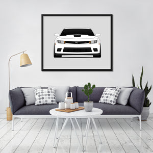 Chevy Camaro Z28 Fifth Generation Print (2013-2015)