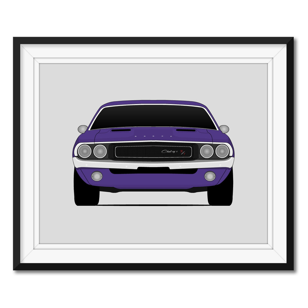 Dodge Challenger First Generation Print (1970-1974)
