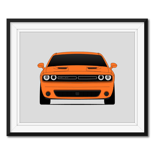 Dodge Challenger Fourth Generation Print
