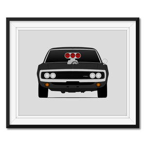 Dodge Charger from the Fast and the Furious Print