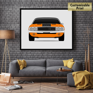 Dodge Challenger R/T from the 2 Fast 2 Furious Print
