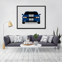 Dodge Challenger RT Print (2011-2014)