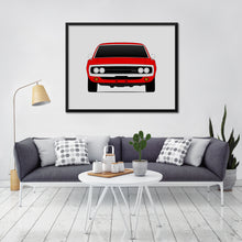 Dodge Charger 1970 2nd Generation Print