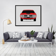 Dodge Charger 1971 3rd Generation Print