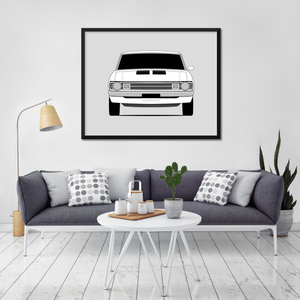 Dodge Dart Demon 1972 Print