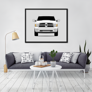 Dodge Ram 1500 4th Generation Print (2009-2012)