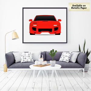 Dodge Stealth from the Fast and the Furious Print