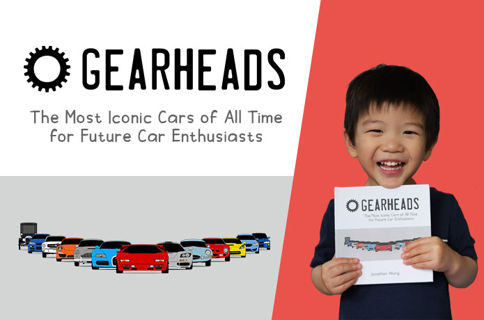 Gearheads: A Rhyming Children's Book about Iconic Cars