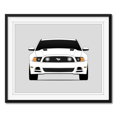 Ford Mustang GT S197 II Print (2013-2014)