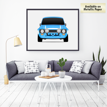 Ford Escort MK1 RS1600 from the Fast & Furious 6 Print