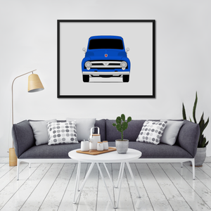 Ford F-100 2nd Generation Print (1953-1956)