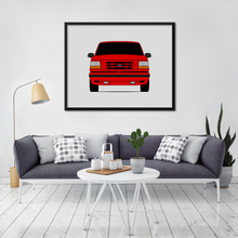 Ford F-150 SVT Lightning 9th Generation Print (1993-1995)