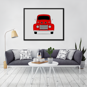 Ford F-1 1st Generation Print (1948-1950)
