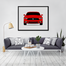 Ford Mustang GT S550 Print (2015-2017)