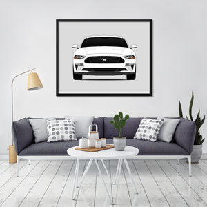 Ford Mustang GT S550 Print (2018-2019)