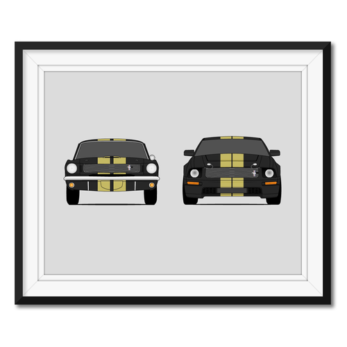 Hertz Shelby GT350H Generations/History Print