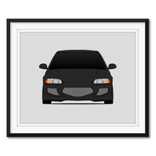 Honda Civic EJ1 Si from the Fast and the Furious Print