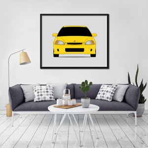 Honda Civic Type R EK9 Print (1997-2000)