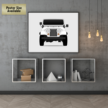 Jeep CJ (Civilian Jeep) Print