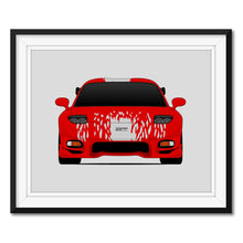 Mazda RX-7 FD from the Fast and the Furious Print